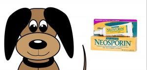 Dog neosporin wound